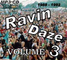 RAVE   ACID HOUSE   MP3 CD   OLD SKOOL     RAVIN DAZE 3