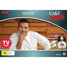 CAKE BOSS: The Essential Collection SEASONS 1+2 DVD TV SERIES BRAND NEW 5DISC R4