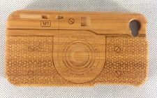 iPhone 4/4s Bamboo Wood Case ( Camera Engraving ) 100% Genuine Wood Cover✔️