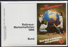 GERMANY 1986 RED CROSS BOOKLET