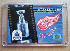 Detroit Red Wings 1998 Stanley Cup Commemorative Card !