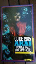 michael jackson guide AKAI 1985 -jazz-blues-Pop-Rock.Edition No1.
