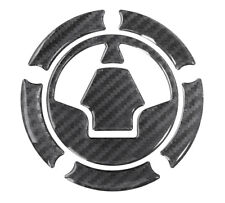 Tapa Depósito 3D Almohadilla Carbono Negro 640018 Universal para Kawasaki