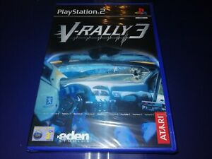 PS2: V-Rally 3 (Factory Sealed Condition) PAL.