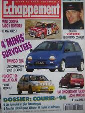 revue 1994 AUSTIN MINI COOPER GR.A / PEUGEOT 106 GR.N / RALLYE MONTE-CARLO
