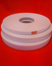 25 Rolls Double Sided White Foam Tape - 12 mm x 25 m x 2 mm Thick