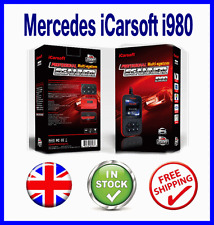 MERCEDES BENZ OBD2 PRO DIAGNOSTIC SCANNER TOOL ABS CODE READER ICARSOFT i980