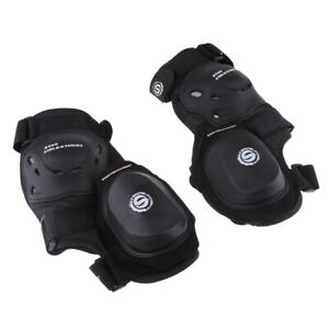 Adjustable Foam Lining Motorcycle Knee Pads Knee Guards Armour Shin Guard NEW