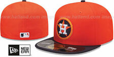 AUTHENTIC!! NEW ERA GAME CAP HOUSTON ASTROS 59 / FIFTY FITTED CAP SIZE 7 5/8