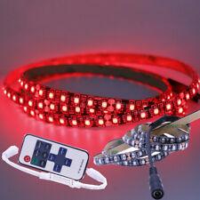 12V/24V 3528 1m 120LEDs Strip RED Waterproof Bar Kitchen Room Light +RF Remote