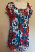 Per Una UK20 EU48 US16 new multi mesh cap-sleeved top and separate camisole