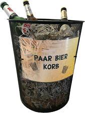 PaarBierKorb witziges Geschenk für jeden Bierliebhaber / Männergeschenk / Bier