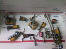 Lot of 11 Streetfighter arcade pinball solenoids