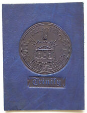 TRINITY COLLEGE TEXAS Leather Seal 1910 American Tobacco Card