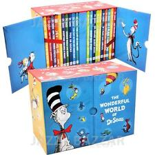 The Wonderful World of Dr. Seuss Collection Classic 20 Books Box Set Kids Story