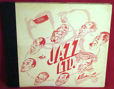 BECHET/EWELL The Jazz Ltd Album 78 Set RARE PRIVATE #4/1000 BILL REINHARDT GIFT