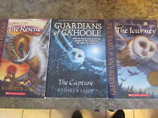 Guardians of Ga'Hoole by Kathryn Lasky lot of 3 books Captive Journey Recue