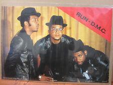 RUN DMC old school rap music1987 ORIGINAL Vintage Poster 10656