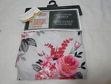 New 3 pcs Laura Ashley CHISWICK  Kitchen Tier and Valance Window Set - Flower