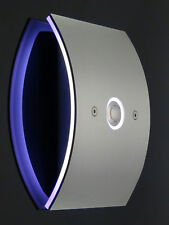 Aufputz Türklingel Klingel Klingelplatte Edelstahl Aufputzkasten Gravur LED