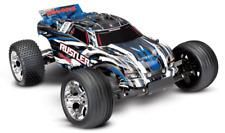 Traxxas Rustler XL-5 1/10 Scale 2WD Stadium RC Truck - Blue