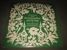 "Vintage 1979 The Yale Carol Choir ""Old Christmas Music & Folk Songs"" LP - NM"