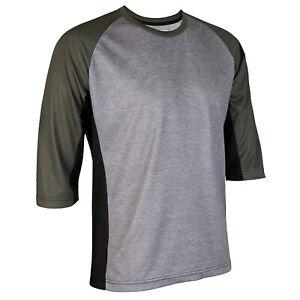 3/4 Sleeve Cycling Jersey Jacket MTB Bike Mountian Motocross Shirt Ride Clothing