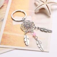 Feather Tassels Pendant Dream Catcher Keyring Key Chain Ring Keychain Bag Purse