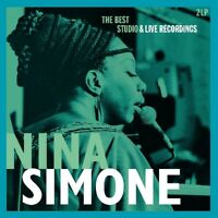 NINA SIMONE - BEST STUDIO & LIVE RECORDINGS  2 VINYL LP NEW!