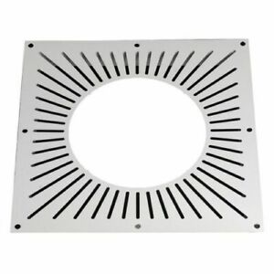 """5"""" (125mm) Ventilated Fire Stop Plate"""