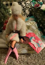 Vintage Barbie Lamb 'N Leather #1467 - Complete Outfit Only W/ Htf Items - Nice!