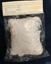 "Nwt House Of Hatten Musical ""My Christening� Pillow W/Eyelet Trim (vintage)"