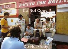Rindt & Chapman & Fittipaldi & Miles Lotus German Grand Prix 1970 Photograph 2