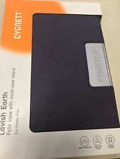 Cygnett Lavish Earth Folio Case purple with Multi-View Srand Case for Kindle