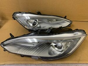 12-15 Tesla Model S Headlight HID Headlights Pair Left Right OEM Headlight Xenon
