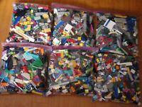 Lego Approx. 11+ Pound LB LBS Parts Pieces HUGE BULK LOT Assortment
