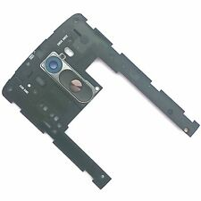 100% Genuine LG G3 rear camera glass+back chassis+wake control buttons+flex D855