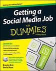 NEW Getting a Social Media Job For Dummies by Brooks Briz