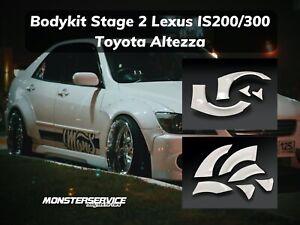 Bodykit stage 2 for Lexus Is200/300 (Toyota Altezza)