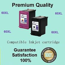 2 Ink Cartridge for Hp 60XL C4680 C4780 C4799 D1160 D2530 F4230 Envy 100 Printer
