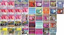 42 POP KARAOKE CD LOT Britney Spears,Christina Aguilera,Celine Dion,Hilary Duff+