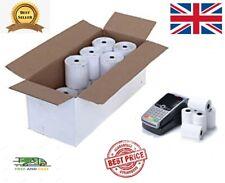 20 Rolls Thermal Paper Credit Machine Till Rolls 57x40mm  Ingenico Worldpay 1BOX
