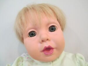 Lifelike Vinyl/Cloth Real Baby, Baby Doll by J Turner for Hasbro, 1984