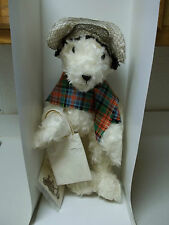 Geraldine's Of Edinburgh Mohair Bear Olive #1 Young At Heart Collection Rare