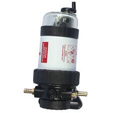 "Universal Fuel Filter Fuel Pre-Filter Water Separator 3/8"" 30 Micron Diesel Kit"