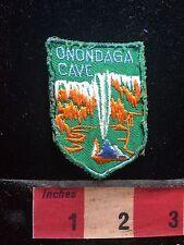 Vintage ONONDAGA CAVE State Park In Missouri Patch (tough find) 76Z1