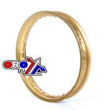 BULLET ALUMINIUM RIM 18x2.15 36 Holes GOLD WHEEL RIM  MOTOCROSS ENDURO