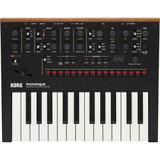Korg Monologue 25-Key Monophonic Analog Synthesizer with 80 Presets Black