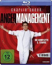 2 Blu-rays * ANGER MANAGEMENT - STAFFEL 3 - Charlie Sheen  # NEU OVP $