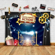 Hollywood - Movie Theme Photography Backdrop and Studio Props DIY Kit. Great as